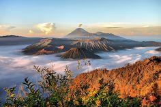 mount bromo, java island - indonesia