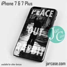 3635ce1ba Eminem Peace Out Rabbit Phone case for iPhone 7 and 7 Plus