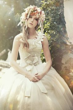 dreamy spring-inspired gowns