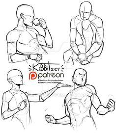 Random poses reference sheet by Kibbitzer on DeviantArt