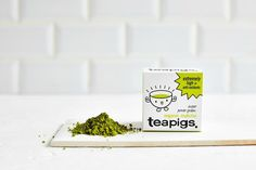 """Louise our tea taster says: """"Matcha is a superhero amongst teas. A super-concentrated 100% green tea powder from Japan. When drinking matcha you're swallowing and ingesting every little bit of green tea goodness. A good source of natural green tea flavonoids (catechins), amino acid l-theanine and beta carotene, matcha has been drunk for centuries in Japan where it is used in the traditional tea ceremony. teapigs organic matcha is premium grade matcha from the Nishio region in Japan. The ..."""