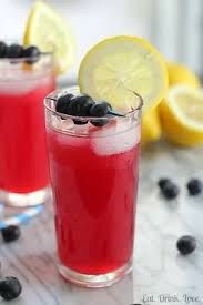 BERRY FRESH LEMONADE: 1 lemon (juiced), 4 drops Lemon EO, 5 drops Citrus Fresh EO, 2 cups strawberries, 2 cups blueberries, 3–4 cups cold water, natural sweetener optional. DIRECTIONS: Add EOs to lemon juice. Puree berries & add to lemon juice mixture. Stir well. Add 3 cups of water, stir & taste. If flavor is too strong, add another cup of water. If too tart, stir in your choice of natural sweetener. Chill before serving. Add sliced fruit & ice cubes to serve.