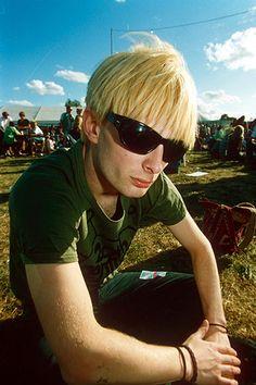 Thom Yorke at Reading 1994