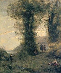 Camille Corot - Pastorale