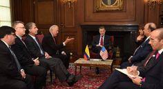 Los #EEUU de #Norteamérica (#USA) y #Colombia se reúnen para restaurar la democracia en #Venezuela ||| Más detalles en #Twitter ||| @CESCURAINA/Prensa en Castellano en Twitter