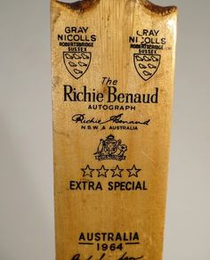 Extra special indeed. Cricket Games, Test Cricket, Cricket Bat, Cricket Sport, Richie Benaud, National Games, World Cricket, After Life, Gin