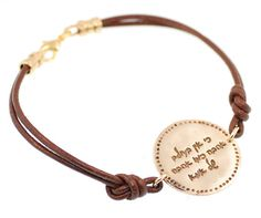 Mom's Love Bracelet Written In Hebrew by ByLiad on Etsy, $65.00