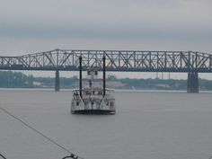 Mississippi River and Steamboat
