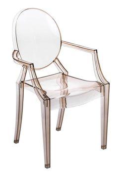 Krzesło Royal inspirowane Louis Ghost - cena: - D2. www.dkwadrat.pl
