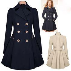 S-XXL Autumn Women Trench Coat New Fashion Double Breasted Windbreaker Slim Female Wind Breaker Coat casaco sobretudo feminino