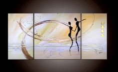 JEAN SANDERS Gemälde Original direkt v. Künstler von Jean Sanders ART  / modern-artgallery auf DaWanda.com