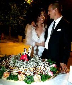 #caricatura #caketopper #personalizzato in #porcellanafredda by #toniasarcinella #taranto #italia #cake #topper #porcellanafredda #pastadimais #caricatura #eventi #festa #party #evento #matrimonio #matrioniopuglia #abito #abitosposa toniasarci@libero.it