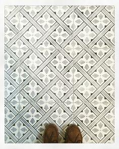 Laura Ashley Mr Jones Charcoal floor tiles