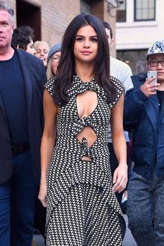 Selena Gomez Just Wore the Tie-Up Dress of Your Dreams