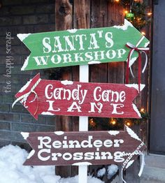 DIY Christmas Arrows Home Decor Idea. See 15 awesome DIY holiday home decor ideas on www.prettymyparty.com.