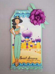 Jasmine prima doll tag - Disney - princess - Aladdin