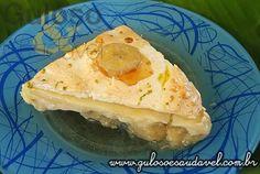 Não gosta de complicações na cozinha? A dica é a Torta de Bananas Gelada é deliciosa, desfaz-se na boca e o leve sabor de limão com a banana é irresistível!  #Receita aqui: http://www.gulosoesaudavel.com.br/2012/03/16/torta-gelada-banana/