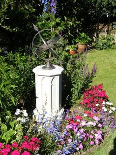 Sun Dials Are A Great Addition To Your Garden.