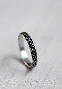 Renaissance pattern ring - praxis jewelry
