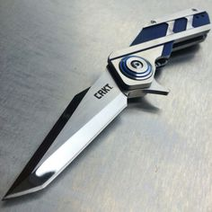 Crkt Deviation knife I have never gotten more compliments on a knife.  Love this.