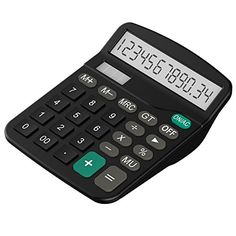 Calculator Helect Standard Function Desktop Calculator  H1001 * You can get more details by clicking on the image. (Note:Amazon affiliate link)