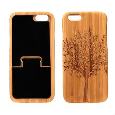Giving your #iPhone6 this amazing #case ,you will see how excellent it is!  Made from the Bamboo! So fashionable and environmental! http://www.tomtop.cc/NjUBny