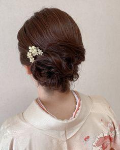 Hair Arrange, Kimono, Hair Beauty, Elegant, Hair Styles, Fashion, Hairstyle, Classy, Hair Plait Styles