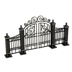 City Gardening 4020245 City Gate UPC: 045544328081 - Use Department 56 Cross Product accessories to enhance your Village display. Hinged gate, compatible with 809011 City Fence by linking pieces together. H x W x L Village General Accessory in H Villas, Christmas In The City, Christmas Decor, Xmas, Landscape Materials, Metal Garden Art, Miniature Fairy Gardens, Mini Gardens, Japanese Gardens