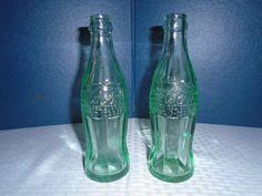 Vintage coke bottles / Coke Bottles / Hobble skirt coke bottle / coke bottle / Casper Wyoming Coke Bottles by Montyhallsshowcase on Etsy