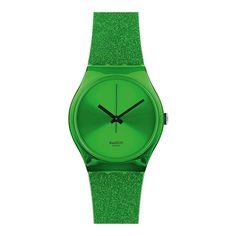 Swatch Unisex Casual Watch GG213 Green Analog Sale price. $44.95