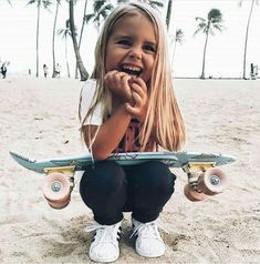 For the first time, women will take part in Mavericks surfing competition Little Babies, Little Ones, Cute Babies, Foto Baby, Baby Kind, Skater Girls, Kind Mode, Belle Photo, Baby Fever