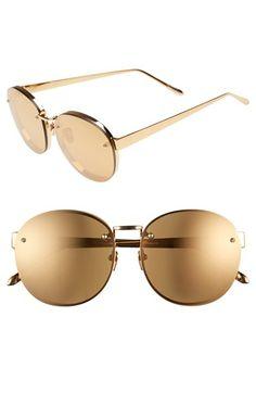 Linda Farrow 56mm Sunglasses