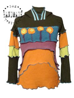 SWEATER/TOP size S Made from recycled sweaters reuse by Grecha, €119.95