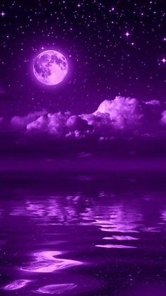 Pretty Pictures, Pretty Pics, Pink Moon, Beautiful Nature Wallpaper, Purple Backgrounds, Purple Aesthetic, Lock Screen Wallpaper, Outer Space, Moonlight
