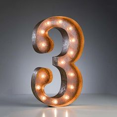 """""""3"""" Marquee Light, $159, now featured on Fab. @Arianna Schiffman"""
