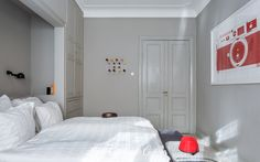 Bedroom - Project #V13 by Castberg & Co Farrow and Ball - Purbeck stone