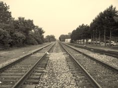 Tracks next to my hotel in Lima, OH