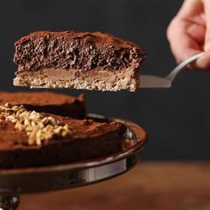 On l'appelle Royal ou Trianon. C'est mon gâteau coup de bluff pour les invités. Une dacquoise moelleuse, un croustillant chocolat praliné-gavottes et une...