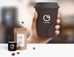Create a brand logo on a coffee shop Create A Brand Logo, Creating A Brand, Logo Branding, Branding Design, Travel Mug, Coffee Shop, Behance, Mugs, Gallery