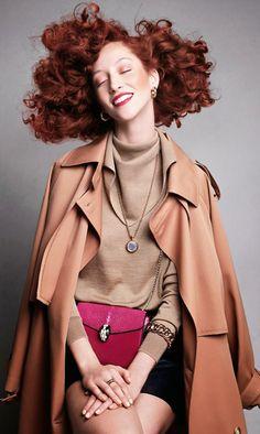 Alana Zimmer for Vogue Spain, July 2014