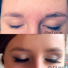 Before & after #makeup