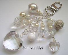 Love my ice chunky heart bag charm NEW by sunnyteddy on Etsy, £6.00