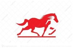 Logo for sale: Red Horse  Logo