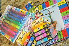 Child Training Bible Supplies