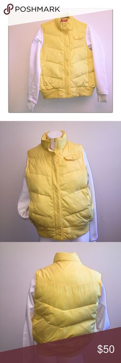 Gap Down Jacket Excellent used condition. Pink lined. Down filled. Gap Jackets & Coats Vests