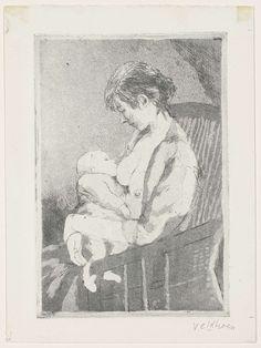 Moeder en kind, Aat Veldhoen, 1956 - ca. 1958