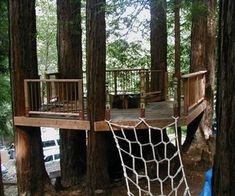 Tree Deck, I see this at the farm in the near future with a glass of wine and the sunset!