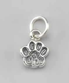 Take a look at this Sterling Silver Paw Pendant by Pebbles Jones on #zulily today!