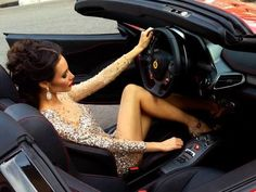 yes I LIKE DRIVING OUR CARS! http://www.alessandropelosi.com #LadyLuxuryDesigns #girl #supercar #car #fashion #babe sexy #glamour #summer #photoshoot #lamborghini #ferrari