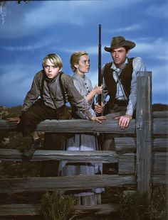"""Claude Jarman Jr., Jane Wyman and Gregory Peck, """"The Yearling"""""""